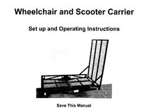 Carrier wheelchair, scooter