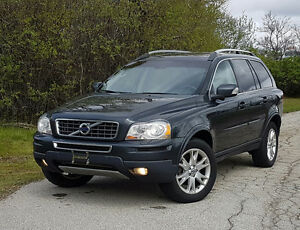 2011 Volvo XC90 SUV, winter ready