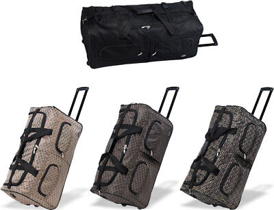 "30"" Polyester Rolling Wheeled Duffel Bag Travel Duffel Bag on Wheel"