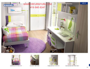 Children's Hypoallergenic Bedroom Sets, Cabinets, Wall units.