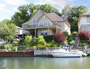 Executive Channel Property in Port Dover, Gold Coast of Ontario