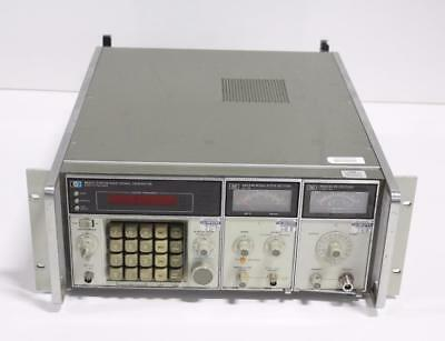 Hp 8660c Synthesized Signal Generator W Option.005 86633b And 86603a Rf
