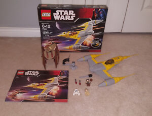 Complete Lego Set - Naboo N-1 Starfighter w/ Vulture Droid (7660