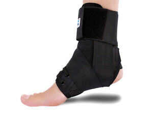 Premium Adjustable Ankle Brace, Lace Up Support- New S M L London Ontario image 2