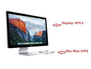APPLE 27 inch Thunderbolt monitor has 2 years warranty