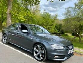 image for 2014 Audi A4 TDI QUATTRO S LINE BLACK EDITION XENONS BO HIFI FDSH 1OWN SINCE 201