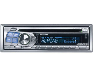 Alpine AM FM CD Player Works great. Front rear and sub output