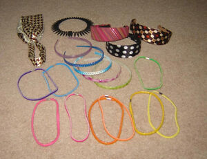 Hair Accessories, Clothes - sizes 6, 7, 8