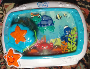 Baby Einstein Sea Dreams Soother Crib Toy with Remote-NEW