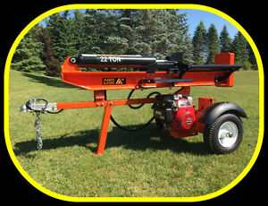 22 ton Log Splitter with Honda engine, Heavy duty I beam, NEW