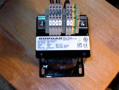 240 x 480V Primary Volts Dongan Transformer 33-100-HLKControl Transformer 100 VA 24V Secondary Volts