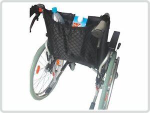 Rollstuhlnetz Einkaufsnetz mit Innenfutter, schwarz universal NEU+OVP