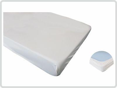 Spannbettschutz Spannbettlaken  PVC wasserundurchlässig wasserdicht 90x200