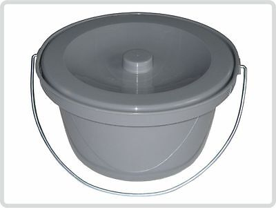 Toilettenstuhleimer Grau, universal