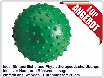 Aku Ball, Massageball, Noppenball, Igelball Farbe: grün