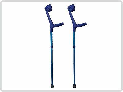 Unterarmgehstützen Gehhilfen Krücken faltbar 1 Paar (links und rechts)