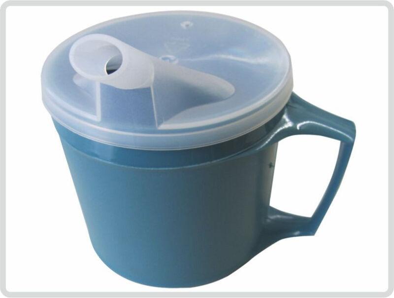 trinkbecher thermo schnabelbecher tasse mit griff und abnehmbaren trinkaufsatz ebay. Black Bedroom Furniture Sets. Home Design Ideas