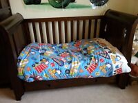 Boori King Parrot Nursery Furniture - cot bed, wardrobe, bookcase & drawers with changing top