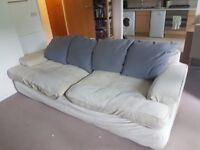 Large comfortable sofa - going for free, for collection