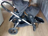 Baby Jogger City Select Double Pushchair/ Buggy