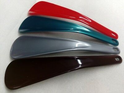 4 Stück 4 Farben Set Schuhlöffel Schuhanzieher Ideal für die Handtasche Anzieher