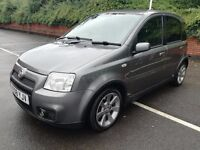 2008/08 Fiat Panda 100hp, grey, 91k, 6 speed manual, fsh, cheap to insure! Nice example
