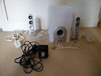 White Creative I-Trigue L3450 2.1 Speaker System