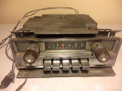 Vintage FoMoCo Original AM Dash Radio Stereo Push Button