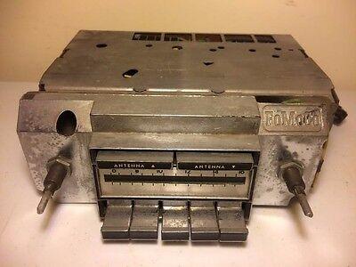 Vintage FoMoCo Original AM Dash Radio Stereo Push Button 6TDC Model