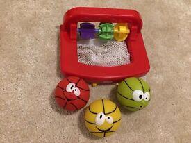 Basket ball toys