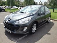 2009/59 Peugeot 308 1.4 XLS, grey, great service history, vgc, low insurance, NEW MOT, px to clear