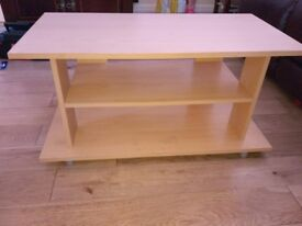 TV stand - Light oak colour