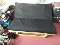 Folding Bed / Futon / Sofa Bed - Great condition - Double