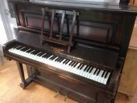 Upright Piano FREE to good home. In good condition for age, but needs tuning.