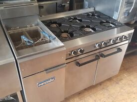 6 Burner Commercial Falcon Oven