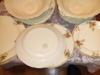 Art Deco plates and serving dishes for sale