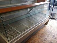 2.5m Frilixa Vista 25F Flat Glass Serve Over Counter / Display Fridge