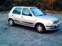 Nissan Micra 5 door Manual LPG Converted