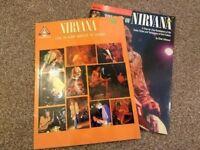 2 Nirvana guitar tab books