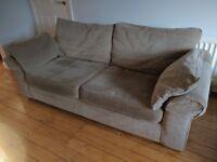 NEXT 3 Seater Sofa Natural colour £95