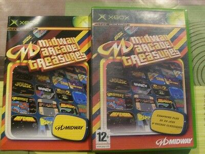 MIDWAY ARCADE TREASURES ( XBOX ) COMPLET for sale  Shipping to South Africa