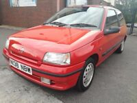 1996/N Mk1 Renault Clio RT 1.4 Auto, Red, 50k, totally original, lots history, classic insurance!