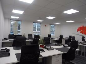 Shoreditch Office Space, 20 workstations, 800 sq ft (Office 3.1 + private meeting room)
