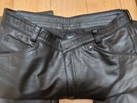 BMW Streetster Leather Trousers EUR size 54 (UK size 44) Black