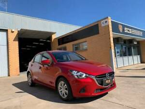 2017 MAZDA 2 DJ NEO RED HATCHBACK LOW KMS Hindmarsh Charles Sturt Area Preview