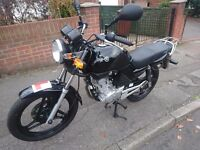 YAMAHA YBR 125cc ONLY 3600 GENUINE MILES - CLEANEST YBR AVAILABLE SEE PICTURES