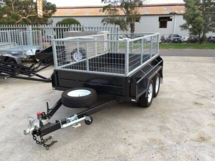 8x5 heavy duty budget sepcial tandem with 2 ft 600mm cage Thomastown Whittlesea Area Preview