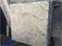 FREE Paving Slabs (square 45cm) 30-40 unbroken