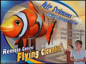 Liquidation of 2000 pcs Air Swimmers Remote Controlled Flying Clownfish
