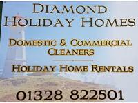 Domestic & Commercial Cleaners, Sheringham, Cromer, Bodham, Kelling Heath, Thursford Little Snoring